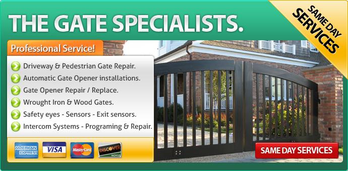 Gate repair Riverside CA